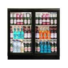 Standard Black Bar Bottle Coolers (Sliding Doors)