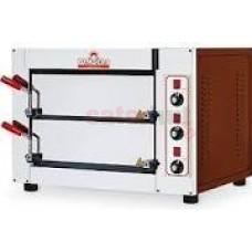 Italforni Fast50 Compact twin deck electric pizza oven