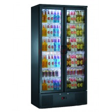 Black Upright Bottle Cooler