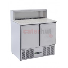 Compact Pizza Counter -  BCC2PREPGRANITE-ECO