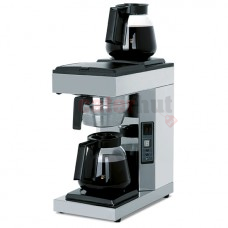 Coffee brewer with 2 decanters 1,5 litres, automatic