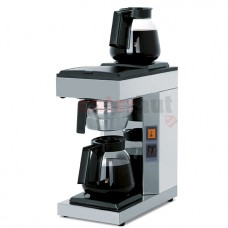Coffee brewer with 2 decanters 1,8 litres, manual