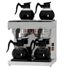 Coffee brewer with 4 decanters 1,8 litres, manual