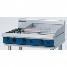 Blue Seal 2 Burner Hob Units with 600mm Griddle Heavy Duty G516B-B