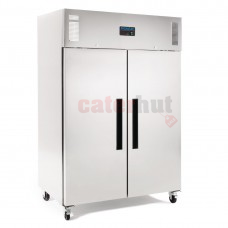 Double Door Freezer Stainless Steel 1200Ltr