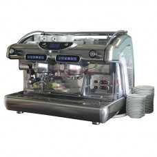 Espresso machine electronical 2 groupswith TCI