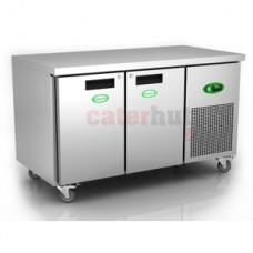 Genfrost 2 Door GN Counter Freezer GEN2100L