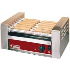 Hot Dog Heater , 7 Stainless Steel Rollers, Capacity 16 Hot Dogs