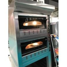 Gas Pizza Oven Double Deck FG4D    (4 x 30cm)