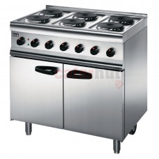 600 Electric 6 Burner Range ESLR9C