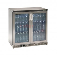 Double Hinged Door 250 Ltr Stainless Steel