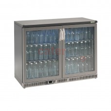 Bottle Cooler - Double Hinged Door 275 Ltr Stainless Steel