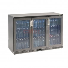 Bottle Cooler - Triple Hinged Door 315 Ltr Stainless Steel