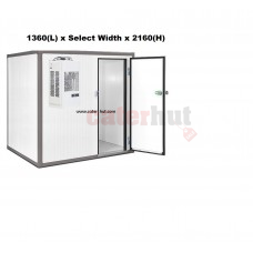 Cold Room 1360 x Select Width x 2160(h) mm Panels | 80mm | 0/+8