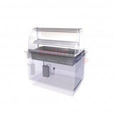 Drop In Heated Serve Over Counter