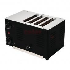 4 Slot Toaster Black