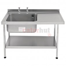 Franke Sissons Stainless Steel Sink Left Hand Bowl 1200x650mm