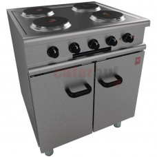 350 Series 4 Hotplate Electric Oven Range on Legs