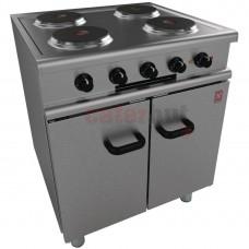 350 Series 4 Hotplate Electric Oven Range on Legs
