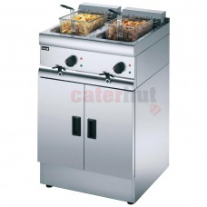 Free Standing Double Electric Fryer