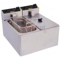 Double Tank Countertop Fryer 2 x 3Ltr