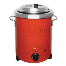 Buffalo Red Soup Kettle with Handles GH227