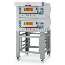 Italforni EGA-2 Heavy duty twin deck gas pizza oven