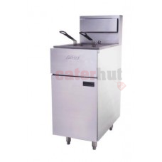 Anets SLG100 32 Ltr Single tank gas fryer - Tube fired