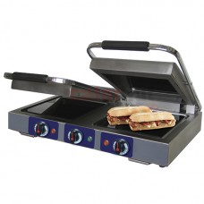 Panini Griddle With Ceramic Glass Plates,  2x 250x250 mm