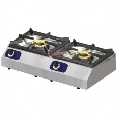Gas Hob, Tabletop, 2 Burners