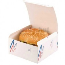 Biodegradable Whopper Burger Box 1 x 1000