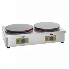 40cm Double Plate Gas Crêpes Machine - 400CDG