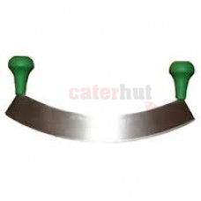 """Knife 14"""" rocker green handles"""
