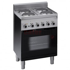 Electric Range, 4 plates, 1 Electric Convection Oven + Electric Grill