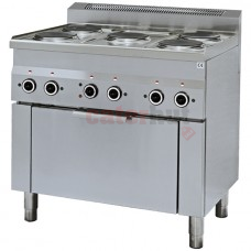 5 Range Electric Oven, 1 Electric Convection oven + Electric Gril