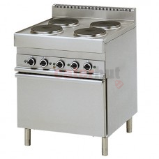4 Range Electric Oven, 1 Electric Convection oven