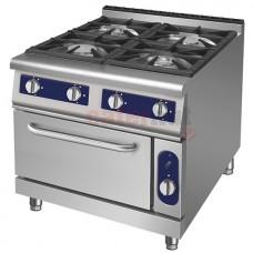 4 Burner Gas Range,1 Gas Oven