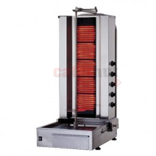 Electric Kebab Grill With 5 Heating Elements, 60-80 kg