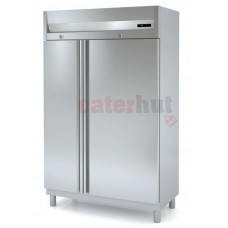 Stainless Steel Freezer Double Door Upright GN 2/1