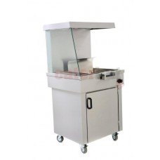 Chip Scuttle CS2/E Archway With Cupboard