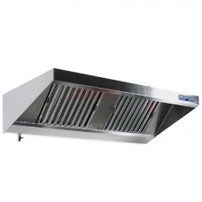 Wall-Mounted Ventilation Extraction Hood + Lighting 900 (Depth mm)