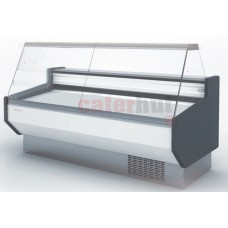 Meat Deli Serve Over Counter -1/+5 Degrees Flat Glass 900mm Depth