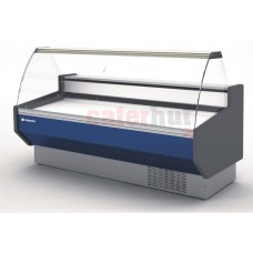 Meat Deli Serve Over Counter -1/+5 Degrees Curved Glass 800mm Depth
