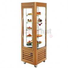 Roller Grill RD60T Upright Cake Display Case (Sliver or Gold )