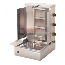 GR60G 600mm 3 Burner Gas Kebab Grill (LPG & Natural Gas)