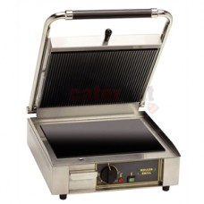 Roller Grill Ceramic Pannini Contact Grill (Choose Plates)