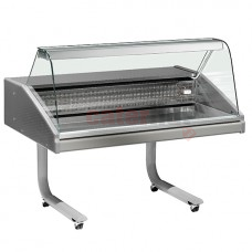 Fish Counter on castors, static cooling, 0 °C/+2 °C, ( 2 Sizes Available)