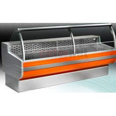 Deli Counter , 895mm Deep, Curved Glass, +4 °C/+6 °C
