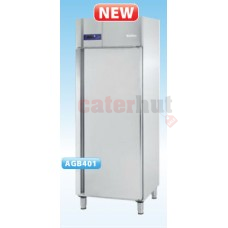 AGB401 Stainless Steel Upright Fridge