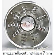 mozzarella cutting disc ø 7 mm